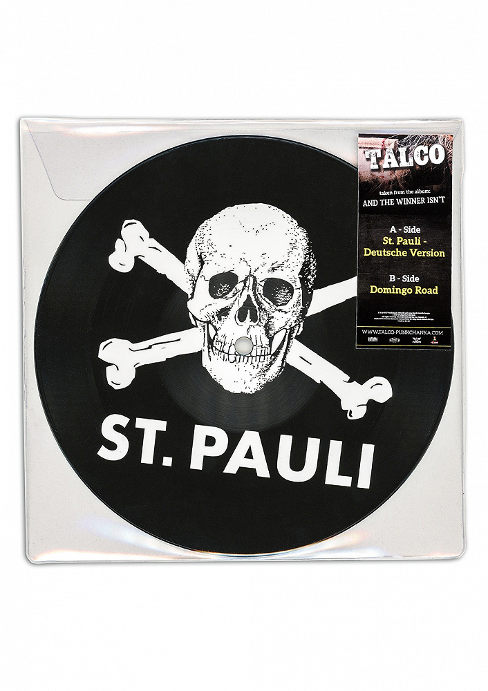 """MORE: 7"""" Picture Disc Talco St. Pauli limited edition"""