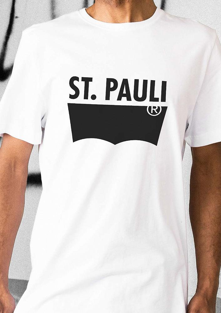 97dd97f85c1856 Levi's Mens St. Pauli Tee white. ‹ ›