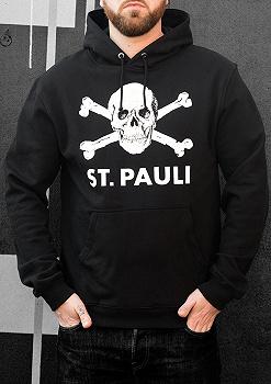 FC St Pauli Totenkopf I Kapuzenpullover Herren