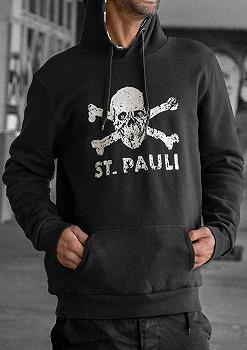Pauli T-shirt black. FC St Anti-fascist set hoodie